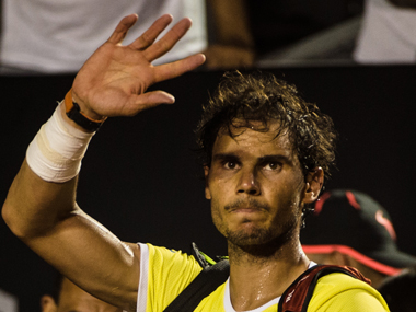 Nadal endured another frustrating defeat  on clay. AFP