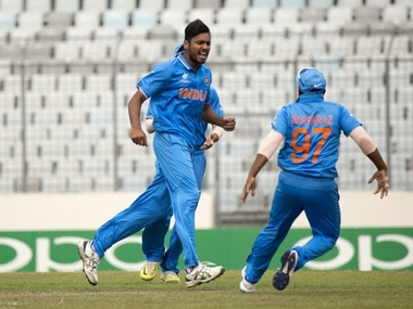 India made it to the finals of the U-19 World Cup for the fifth time. Image courtesy: Twitter/@ICC