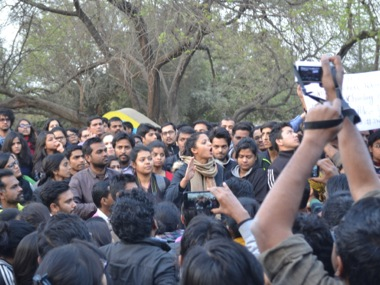Protests at JNU. Tarique Anwar/Firstpost
