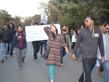 A protest at JNU. Tarique Anwar/Firstpost