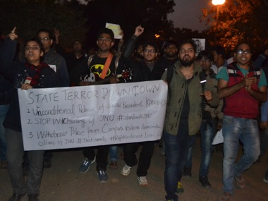 JNU protests. Firstpost/Tarique Anwar