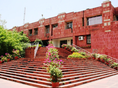 JNU campus. Image courtesy: www.jnu.nic.in