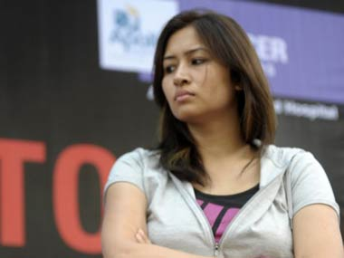 File picture of Jwala Gutta. AFP