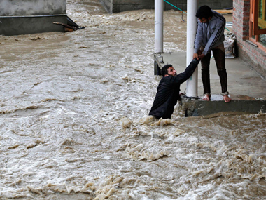 Floods in Kashmir. File photo. AP