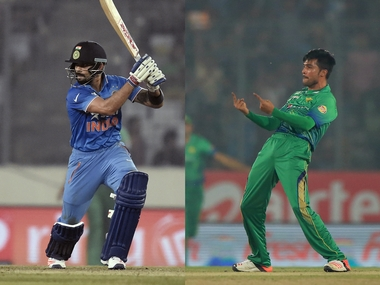 Virat Kohli relished the challenge Mohammad Amir posed with his swing bowling. AFP