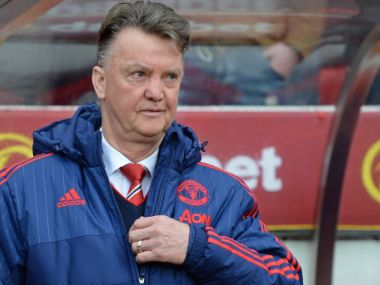 Pressure is mounting on Louis van Gaal. AFP