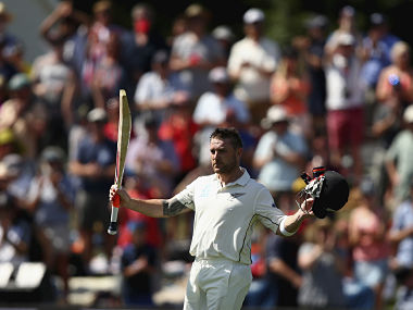McCullum broke Richards' record of fastest Test ton. Getty Images