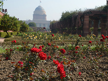 Mughal gardens. File photo. Reuters