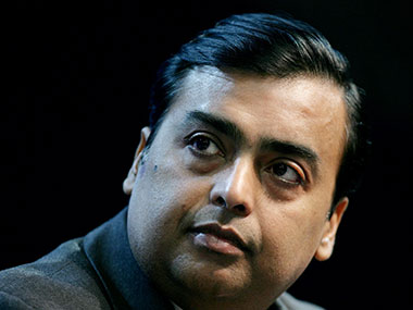 Mukesh Ambani in a file photo. Reuters