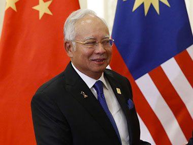 File image of Malaysian PM Najib Rajak. Getty Images