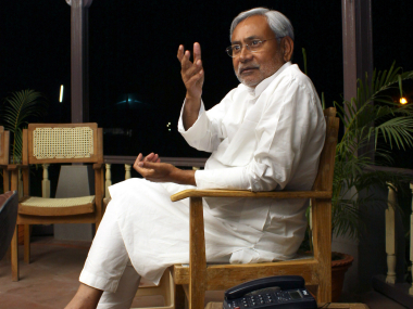 Nitish Kumar. File photo. Reuters