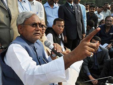 File photo of Bihar CM Nitish Kumar. AFP