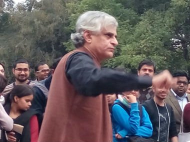 P Sainath. Image courtesy: Debobrat Ghose/Firstpost