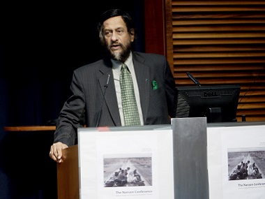 File image of RK Pachauri. AFP