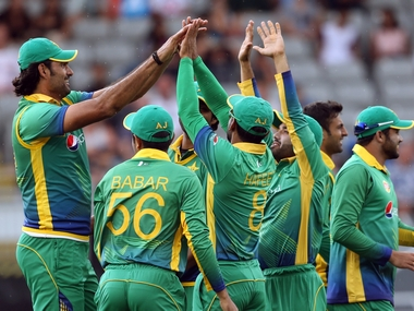 Pakistan team. AFP