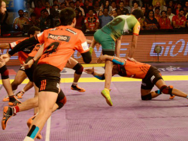 Patna Pirates defeated U Mumba. PKL Website