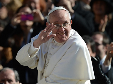 Pope Francis will make his movie debut by playing himself in a film. AFP