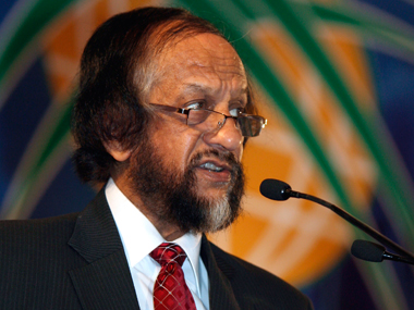 RK Pachauri. File photo. Reuters