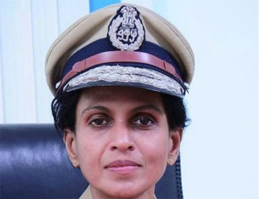 IPS officer R Sreelekha in a file photo. Image courtesy: sreelekhaips.blogspot.in