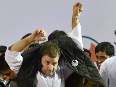 Congress vice-president Rahul Gandhi. PTI