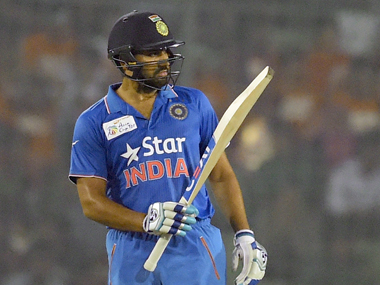 Rohit Sharma. AFP