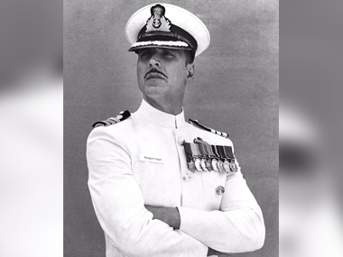 First look of the film Rustom. Image Credit @akshaykumar