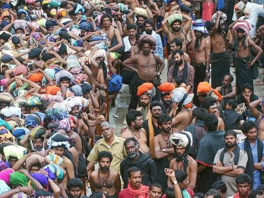 Sabarimala temple. File photo. Reuters
