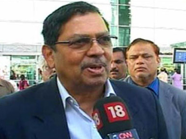 File image of Santosh Hegde. IBNLive