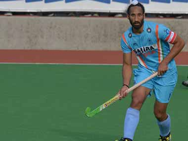 File photo of Sardar Singh. AFP