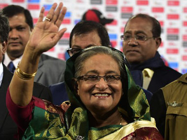 Sheikh Hasina. File photo. AFP