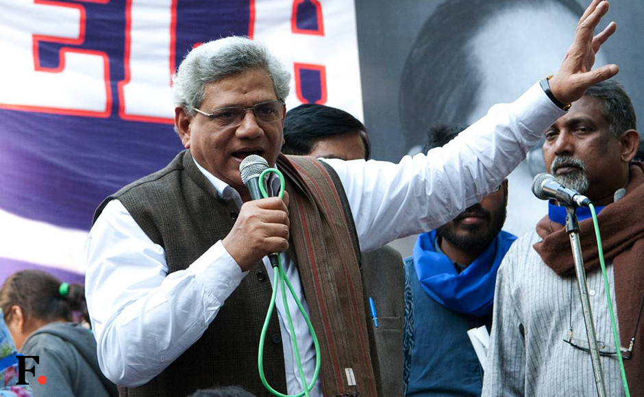 Sitaram Yechury/ Pic by Naresh Sharma/Firstpost