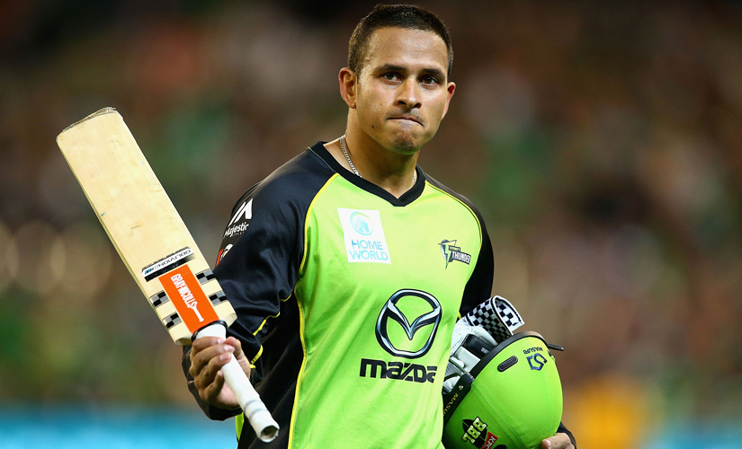 Usman Khawaja. Getty Images