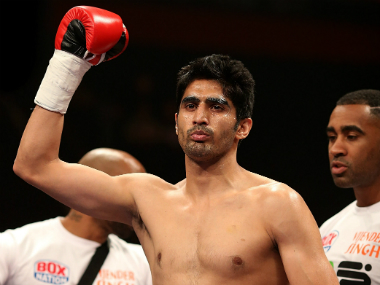 File Photo of Vijender Singh. Getty Images