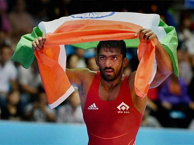 File photo of Yogeshwar Dutt. PTI