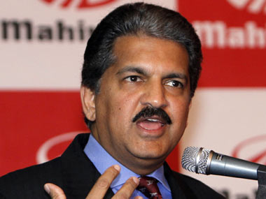 M&M chairman Anand Mahindra. Reuters
