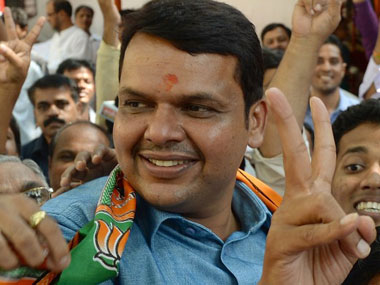 File image of Devendra Fadnavis. AFP