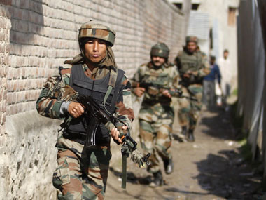 Indian Army Jawans. REUTERS