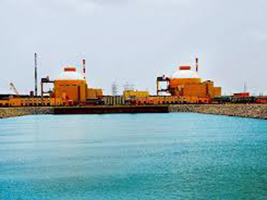 File image of the Kudankulam Nuclear Power Plant. PTI