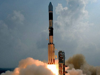 File photo of the Mangalyaan launch by ISRO on 5 November 2013. PTI