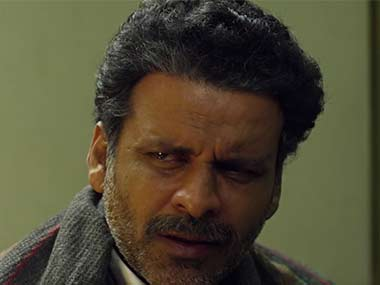 Manoj Bajpayee in a screenshot from 'Aligarh'