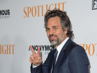 Actor Mark Ruffalo. AFP