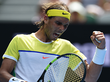 File photo of Rafael Nadal. AFP