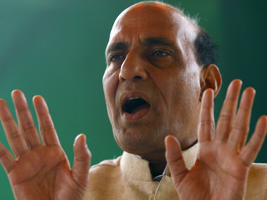 Home Minister Rajnath Singh said India will stand with Pakistan if it stopped supporting terrorists. Reuters