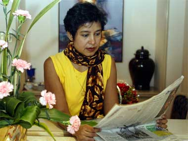 File photo of  author Taslima Nasreen. Reuters