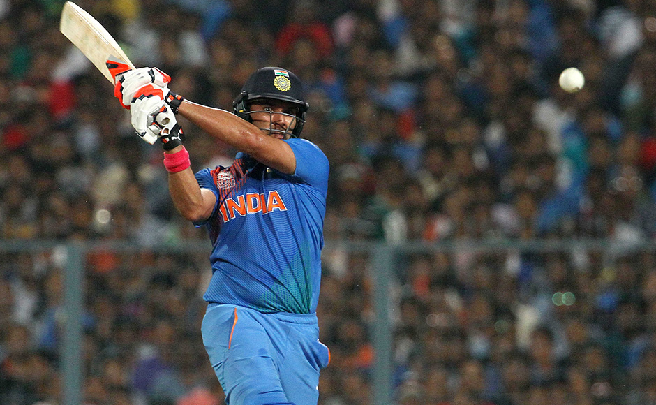 Yuvraj provided good support to Kohli as the duo put on 61 runs from 7.2 overs which proved to be crucial. Solaris