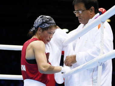 file Photo of M.C. Mary Kom. GettyImages