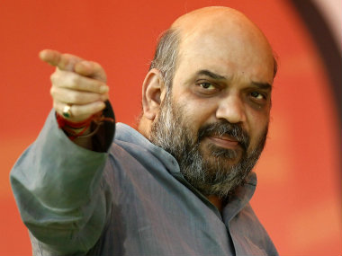 Amit Shah said RSS and BJP was not putting pressure on anyone to say, 'Bharat Mata Ki Jai'. Reuters