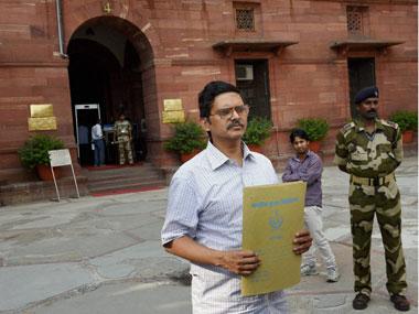 Suspended IPS officer Amitabh Thakur. PTI