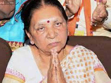 File image of Anandiben Patel. News18