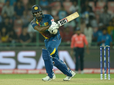 Sri Lanka skipper Angelo Mathews. Getty Images